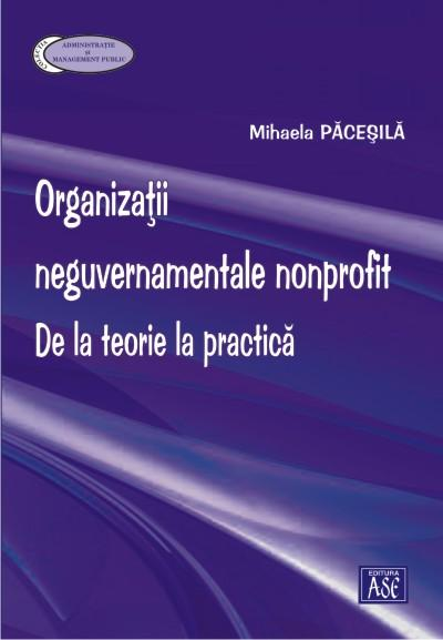 Nongovernmental-nonprofit organizations. From theory to practice