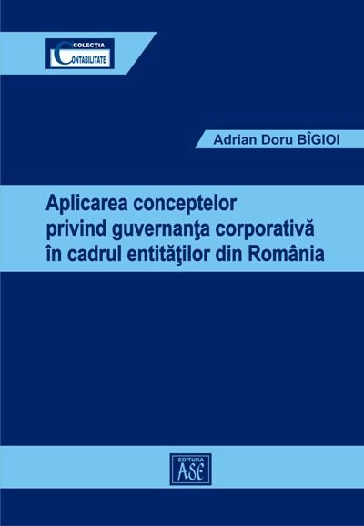 Applying concepts relating corporate governance to entities from Romania