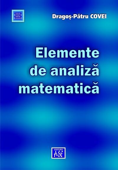 Elements of mathematical analysis