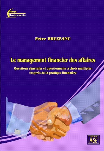 Questions generales et questionnaire à choix multiples inspirés de la pratique financière