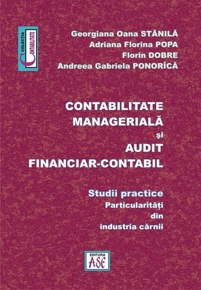 Management accounting and financial and accounting audit. Applicable cases – particularities of meat processing industry