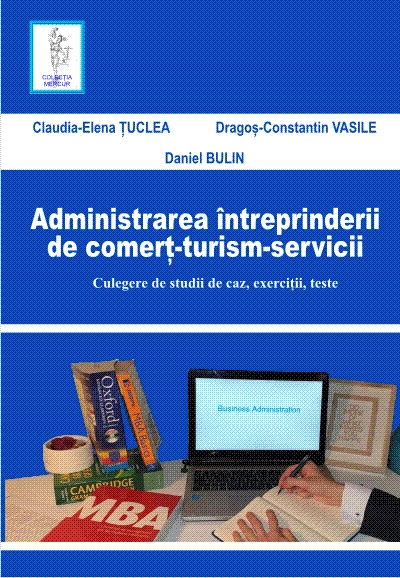 Administration of the enterprise of commerce, tourism, services. Collection of case studies, exercises, tests
