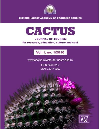 CACTUS. Journal of tourism for research, education, culture and soul