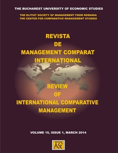 REVIEW OF INTERNATIONAL COMPARATIVE MANAGEMENT